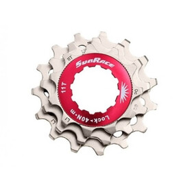 SunRace SPCS MTB Sprocket Unit 10-speed incl. Lockring silver
